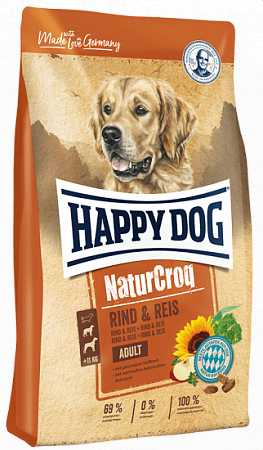 Happy Dog NaturCroq Rind&Reis от магазина